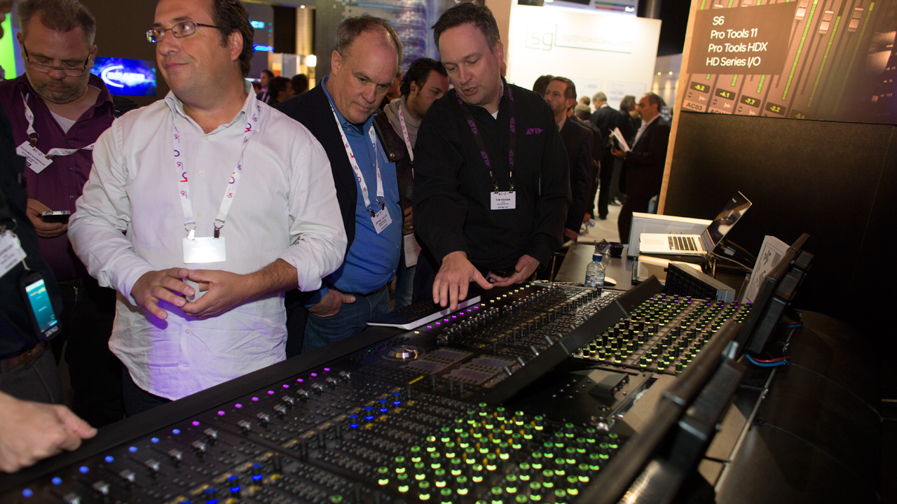 Avid S6 Professional Sound Mixing