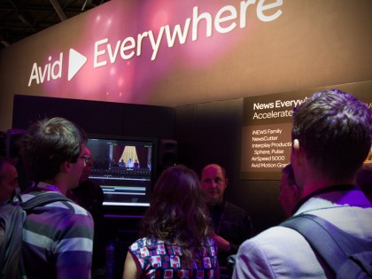 IBC 2013: Leading the Broadcast and Media Industry with Avid Everywhere (Video)