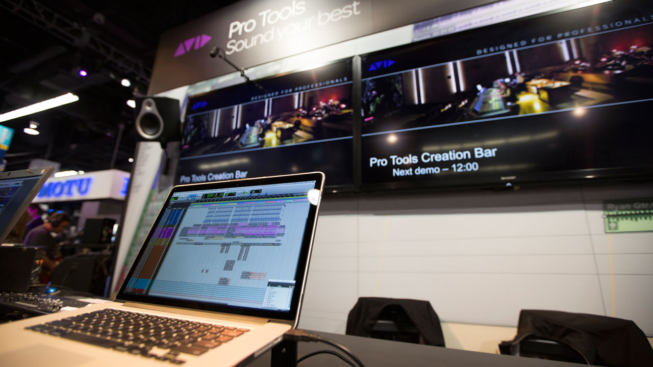 Avid at Winter NAMM 2014 Anaheim