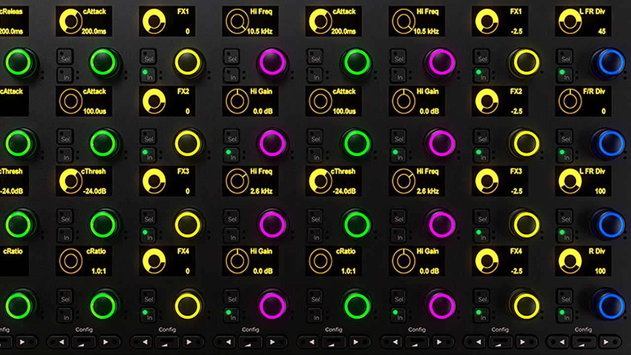 Customize Your Own Modular Control Surface with the new Avid S6 'Configurator'