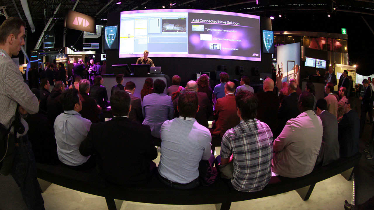IBC 2014: Avid Main Stage Demonstrations and Guest Presenter Schedule