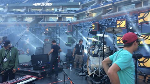 Music: Mixing Fitz and the Tantrums at the US Open