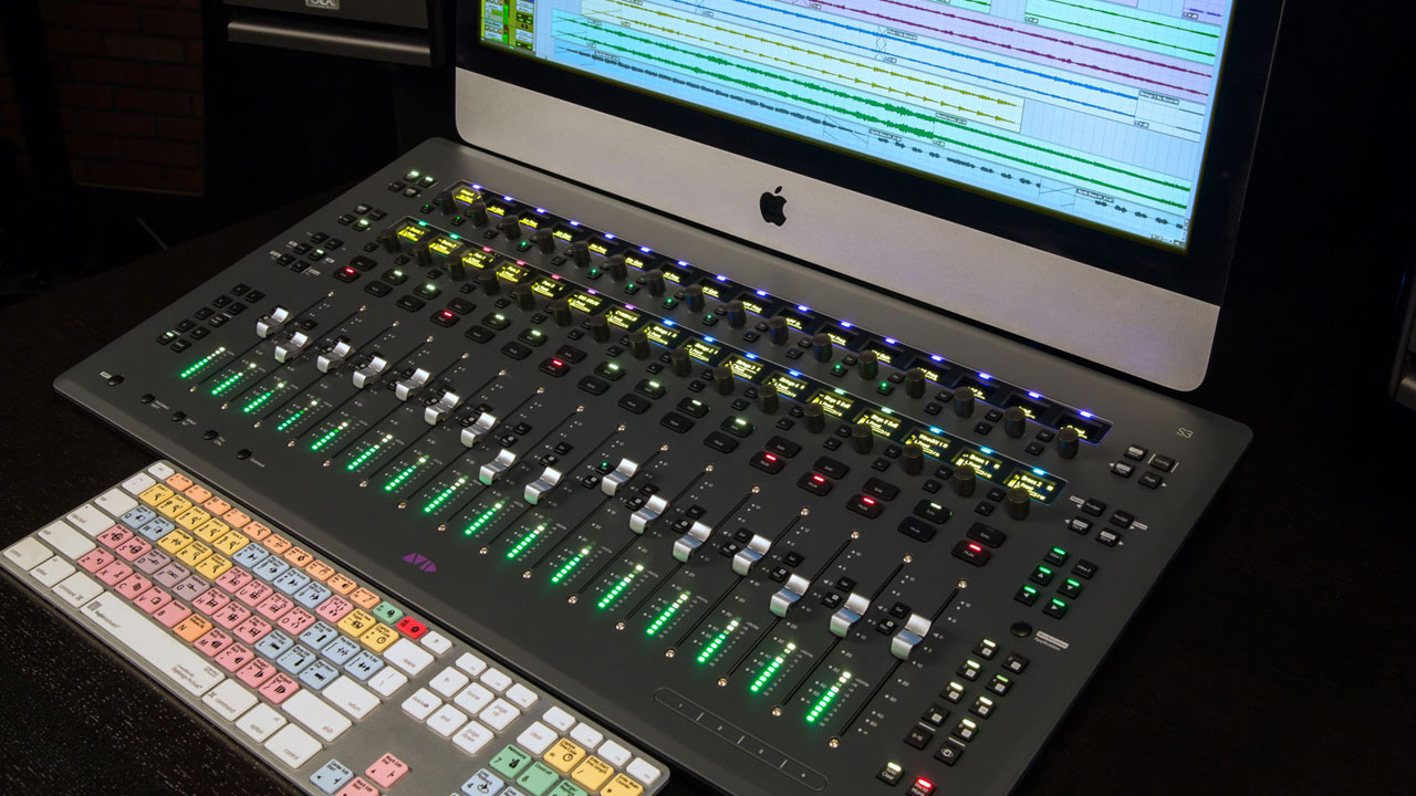 AES Los Angeles 2014: Introducing Pro Tools | S3 Compact Control Surface