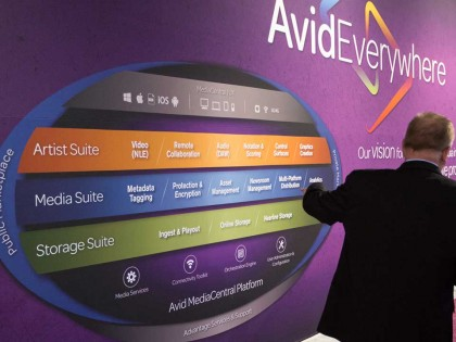 NAB 2014: Discover the Foundation of the Avid Everywhere Vision—Avid MediaCentral Platform