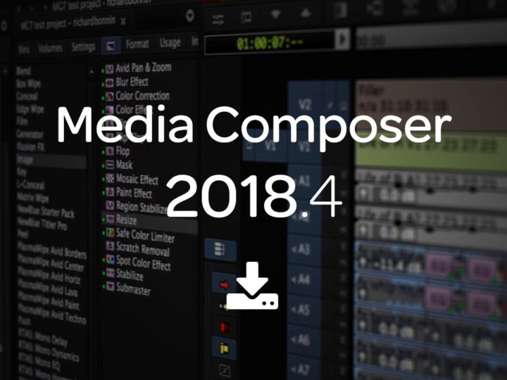 What's New in Media Composer 2018.4 — Now Available