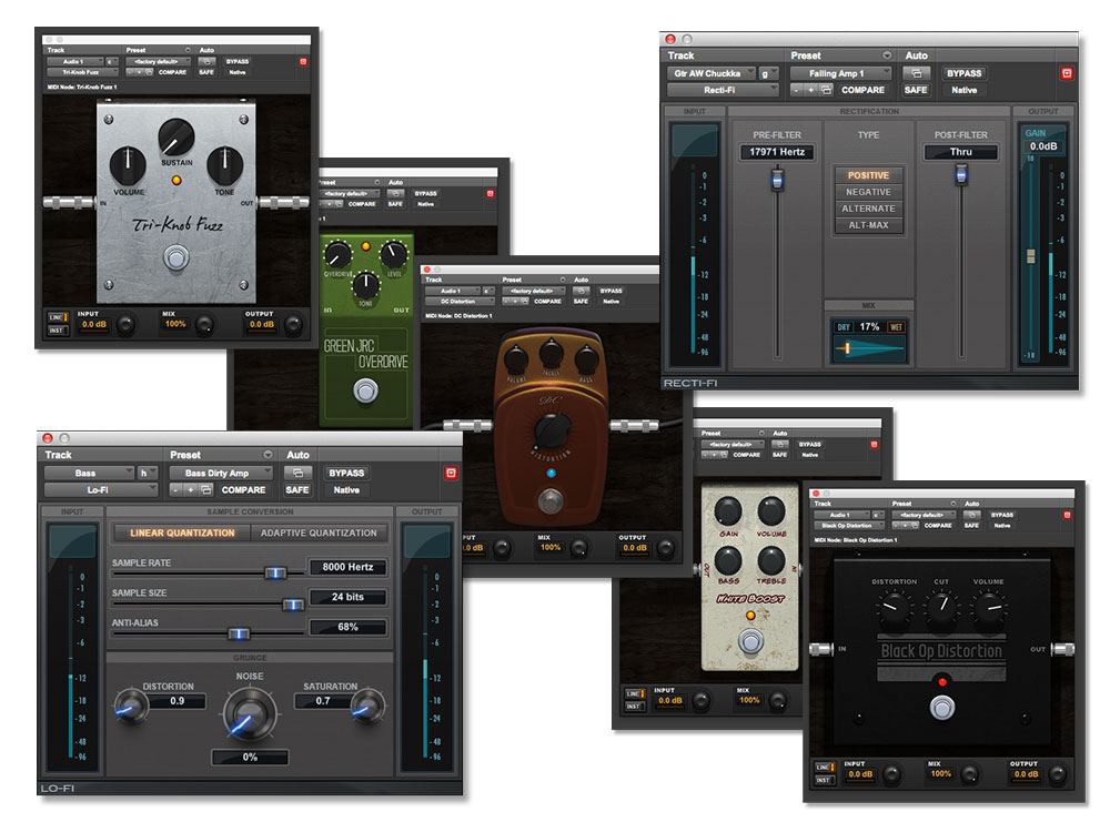 Pro Tools | First Distortion Bundle