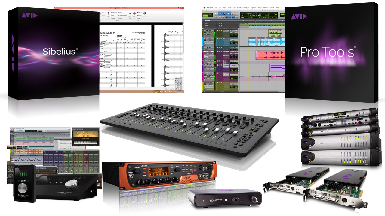 Avid Music Creation Products