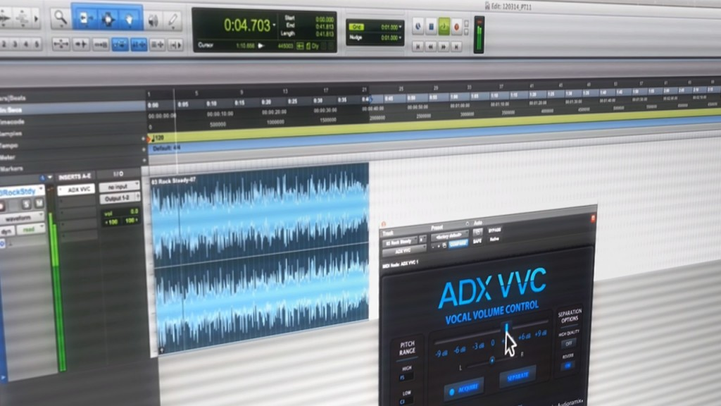 Separate Lead Vocals From Music Tracks with Ease Using ADX VVC Plug-In for Pro Tools