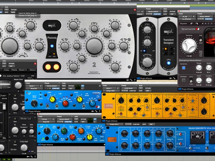 Plugin Alliance Releases 18 New AAX DSP Titles for Pro Tools | HDX