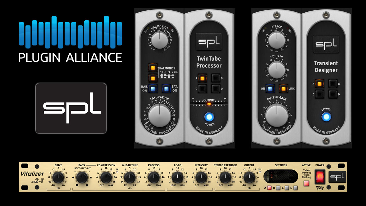 18 New Plugin Alliance AAX DSP Plug-ins for Pro Tools | HDX