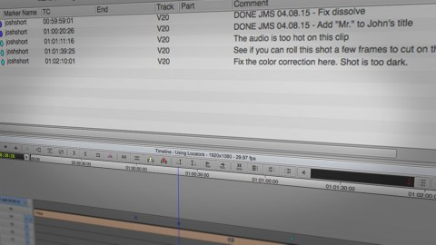 How to Use Markers in Avid Media Composer to Track Revisions