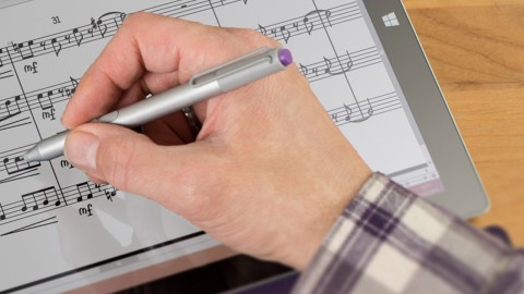 How to Integrate NotateMe, the Music Handwriting App, With Your Sibelius Workflow