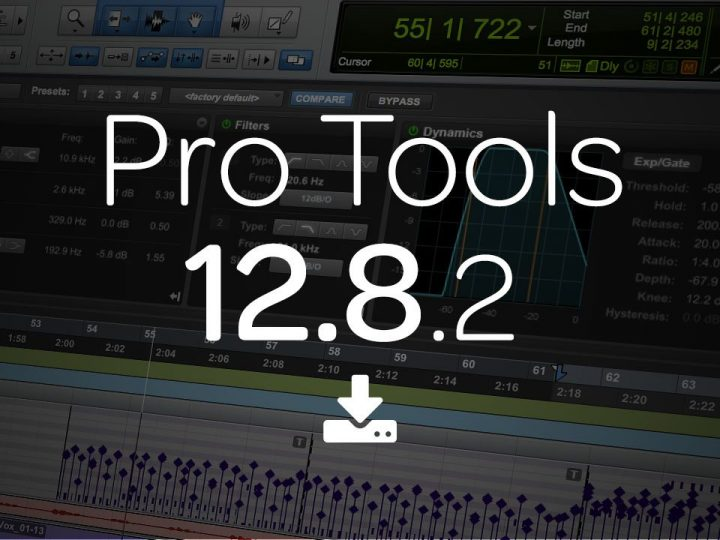 What's New in Pro Tools 12.8.2 — Now Available