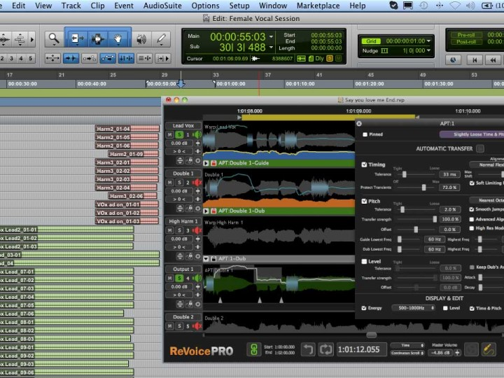 Learn How to Sync Dialog Lines to Picture and Double Music Tracks with Revoice Pro