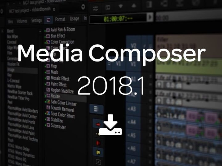 Media Composer 2018.1 — a New Way of Versioning Your Favorite Editing Software