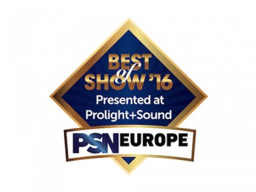 VENUE | S6L Presented with Prolight + Sound 2016 Best of Show Award
