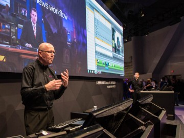 Be First with Breaking News—Presenting Avid Multiplatform News Production Solutions at NAB 2016