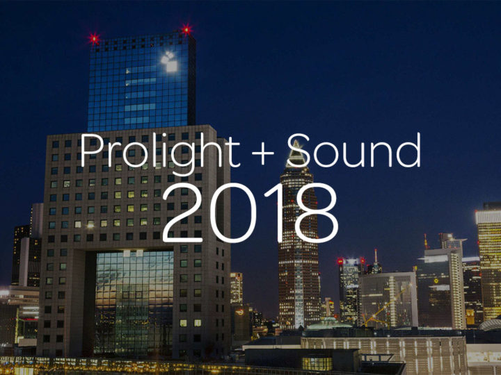 Avid Live Sound and Studio Systems at Prolight + Sound 2018