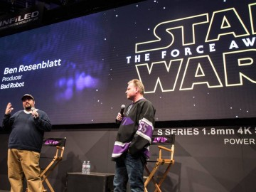 NAB 2016: The Force Awakens on the Avid Main Stage with Star Wars Co-Producer Ben Rosenblatt