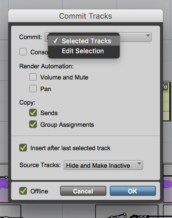 Commit in Pro Tools—Insights and Workflows