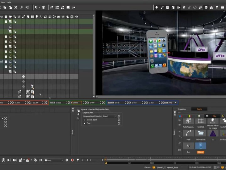 Create State-Of-The-Art 2D/3D Real-Time Broadcast Graphics Authoring with 4Designer