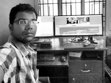 GA Gowtham Edits Breezy Love Song 'Unnale Unnale' on Avid Media Composer