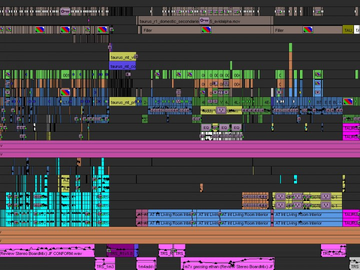 Analyze the Full Media Composer Timeline of 'Mission: Impossible — Rogue Nation'