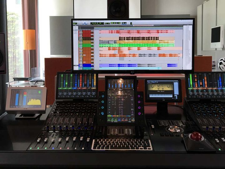 Sound Design for Radio and TV at AUDIONPLUS — New Avid Pro Tools | S6 Console for Enhanced Workflow