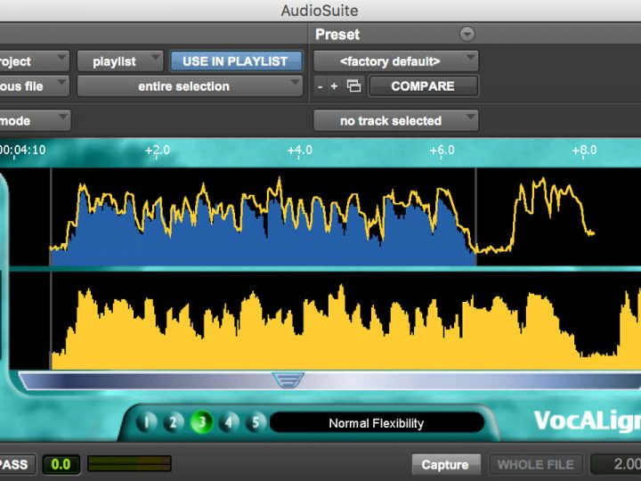 New Low Price For VocALign Project 3 Legendary Audio Alignment Software