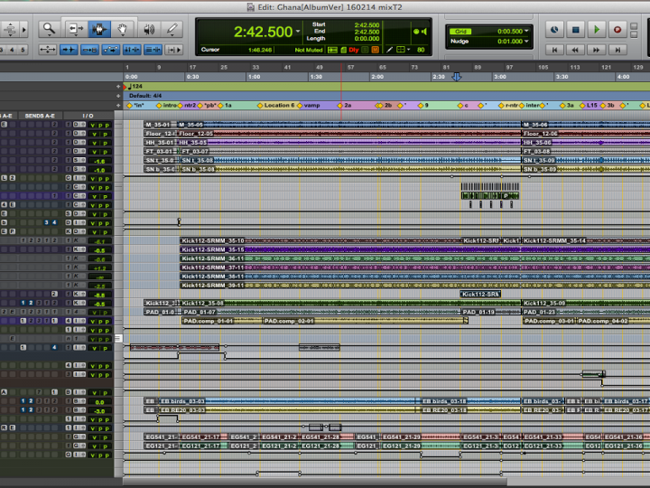 "Pro Tools Music Production Story ""D.A.N."""