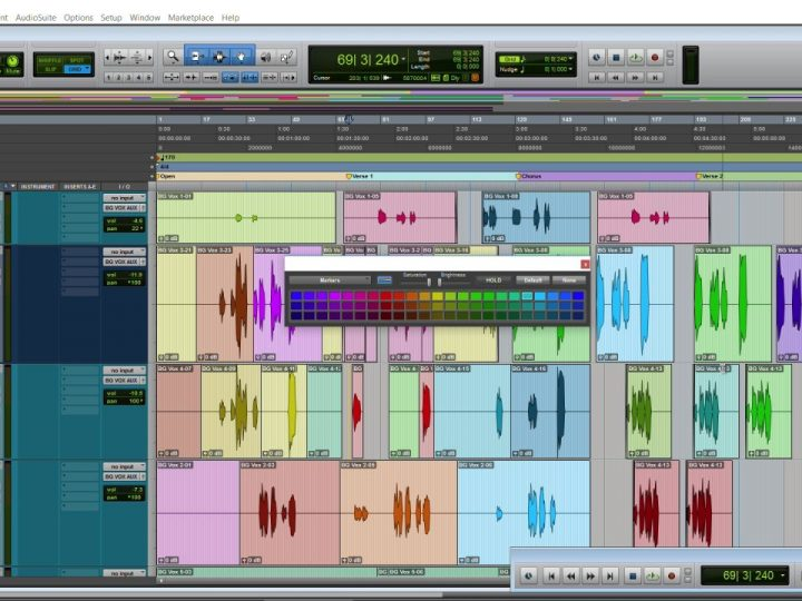 Navigate Your Song with Ease by Coloring Markers in Pro Tools