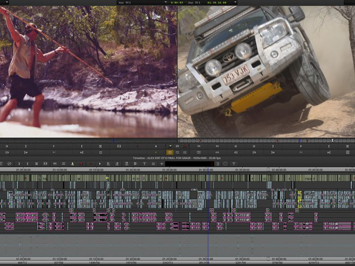 "Cutting it Up Down Under — Alex Fitzwater Edits Outback Adventure Series ""Unleashed"""