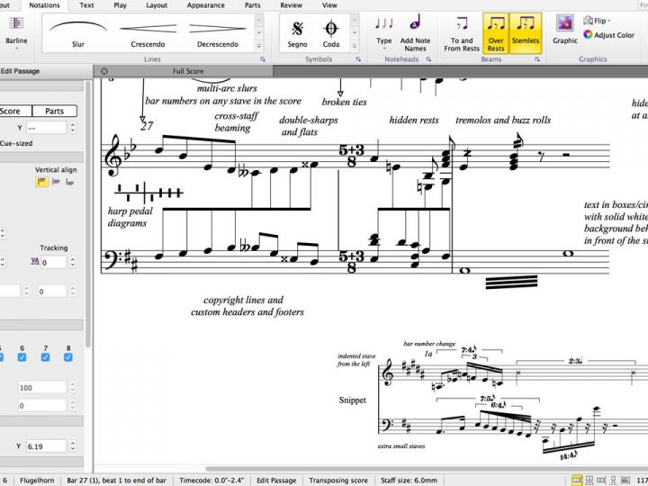Sibelius 8.5 Now Available—What's New
