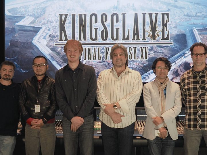 """Avid Pro Tools Brings the Sound of """"Kingsglaive: Final Fantasy XV"""" to the Big Screen"""