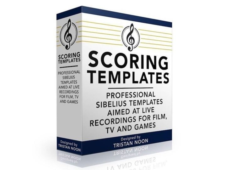 Tristan Noon Scoring Templates for Sibelius