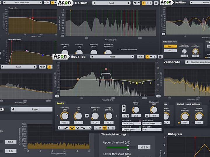 Acon Digital Brings Breakthrough AAX Plug-Ins to Avid Marketplace — Get 30% Off for a Limited Time