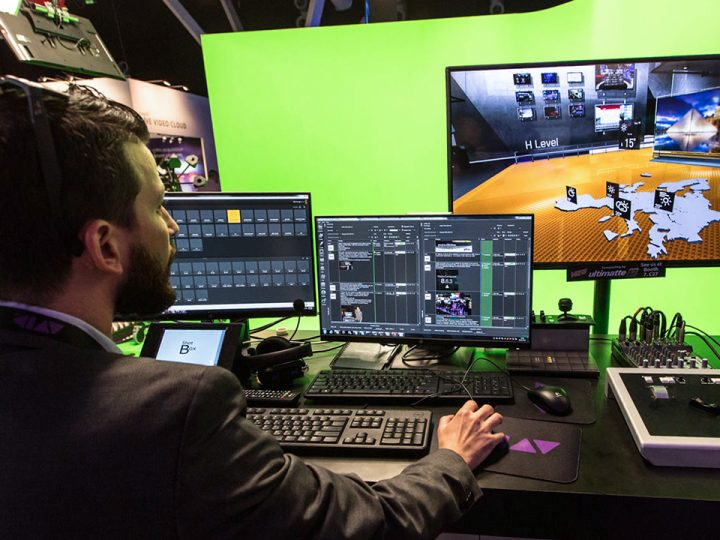 Where Ideas Become Reality — Avid Maestro | Virtual Set