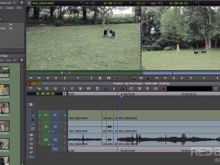 Avid Media Composer | First – in weniger als 7 Minuten erklärt