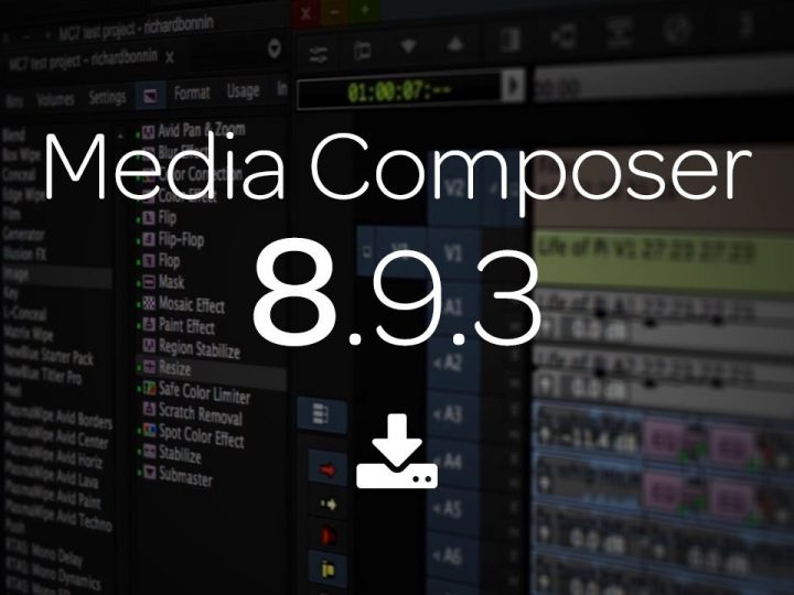 What's New in Media Composer 8.9.3 — Now Available