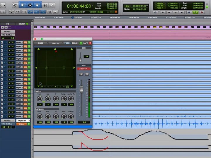 Dolby Atmos® Improvements in Pro Tools | HD 12.8.2