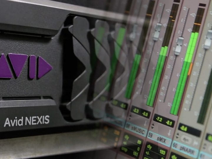 Avid Shared Storage Optimized for Real-Time Audio Production