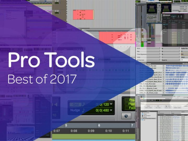 Avid Pro Tools — Best of 2017