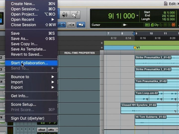 Start Collaborating More Easily with Pro Tools 2018