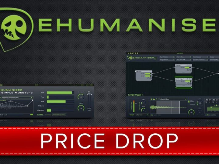 Price Drop for Krotos' Innovative Dehumaniser 2 Software