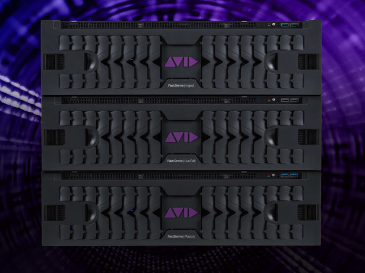Deliver Your Content at Lightning Speed — The Avid FastServe Family at NAB 2018