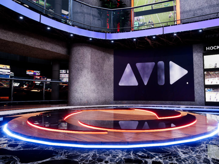 Introducing Avid Maestro | Virtual Set Powered by Unreal Engine at NAB 2018