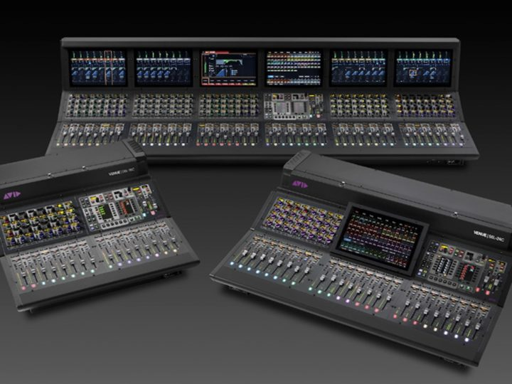 Introducing the Avid VENUE | S6L Unified Live Sound Platform