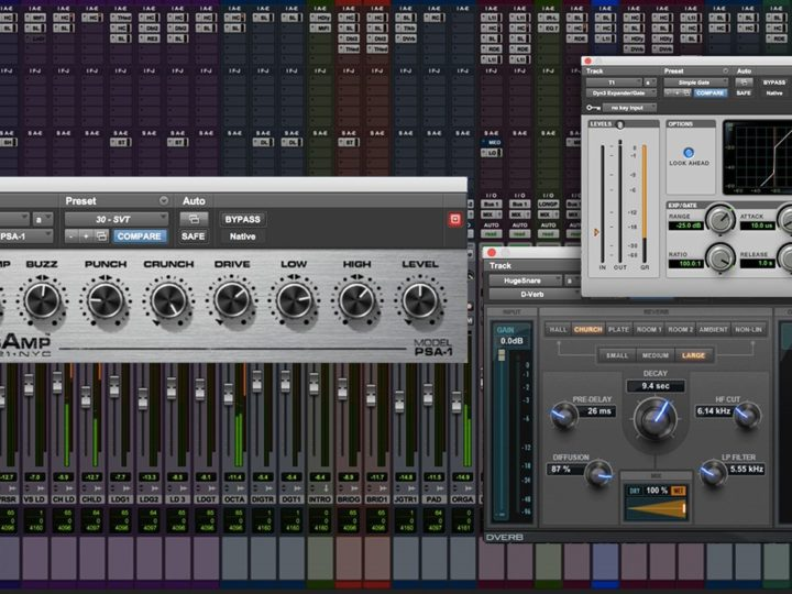 4 Secret Weapons for Mixing Metal in Avid Pro Tools