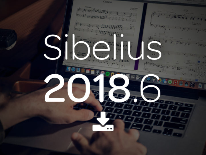 Note Spacing Improvements in Sibelius 2018.6