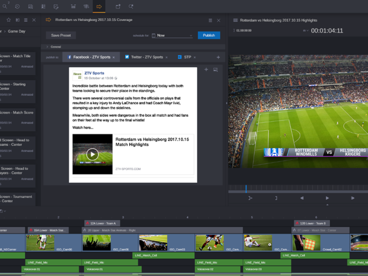 Deliver Compelling Content to Multiple Platforms Quickly and Simply with Avid MediaCentral